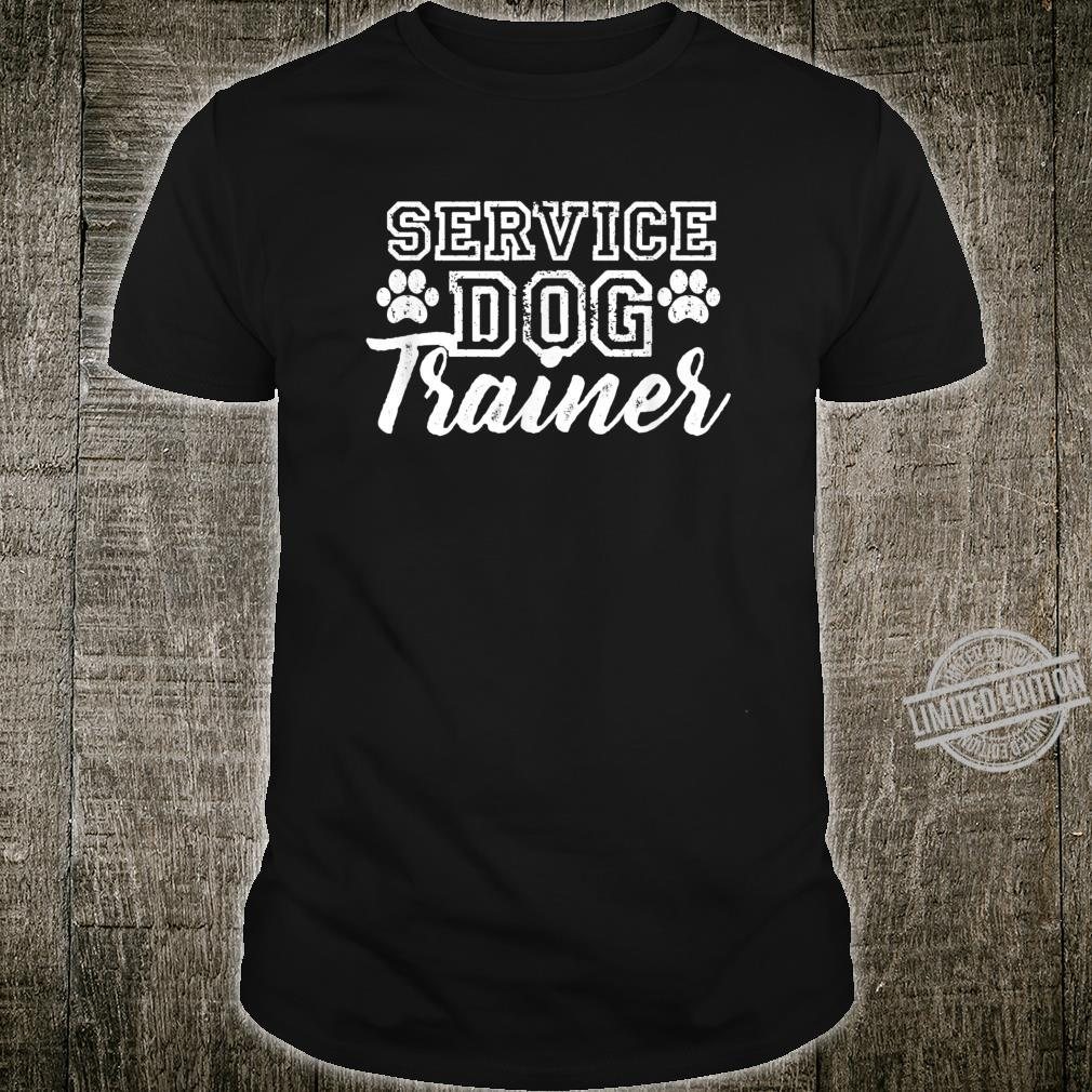 Service Dog Trainer Dog Training Dogs Shirt