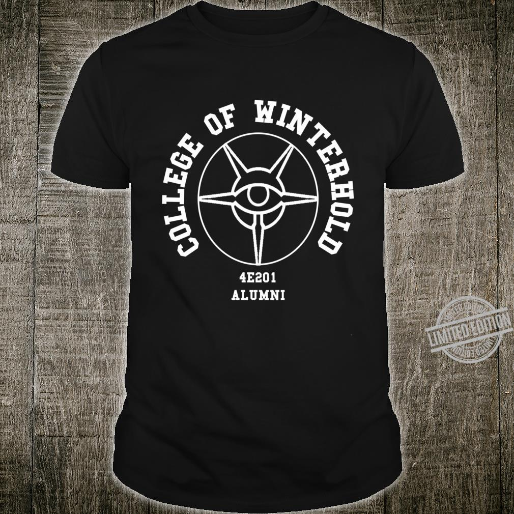 Skyrim College of Winterhold White Shirt