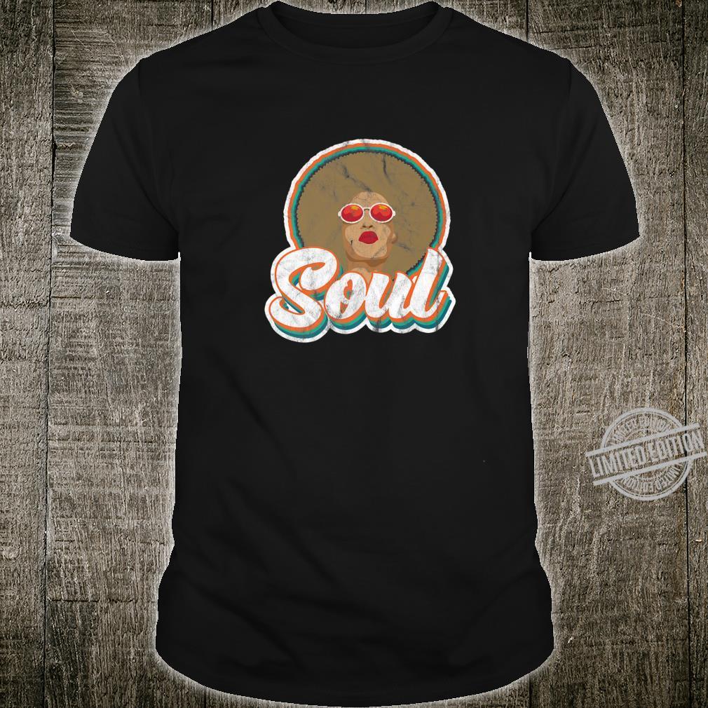 Soul Afro African American 70s 80s Funk Disco Retro Shirt