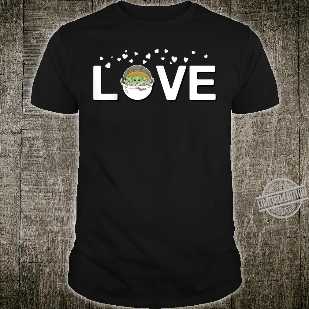 Star Wars The Mandalorian The Child Love Valentine's Day Shirt
