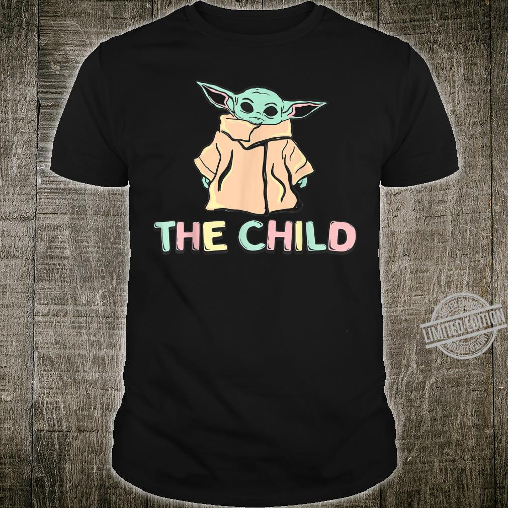 Star Wars The Mandalorian The Child Magnet Letters Shirt