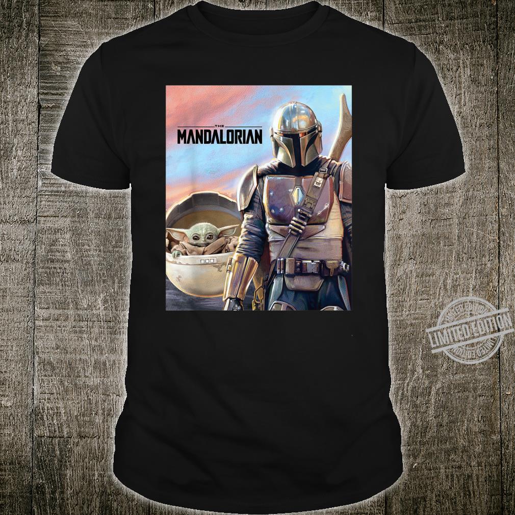 Star Wars The Mandalorian The Child Painting Shirt
