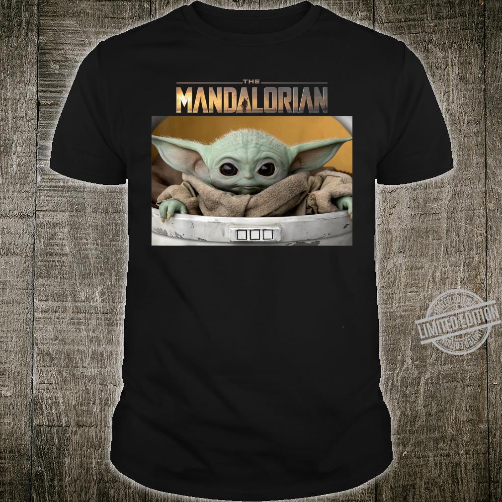 Star Wars The Mandalorian The Child Pod Screenshot Logo Shirt