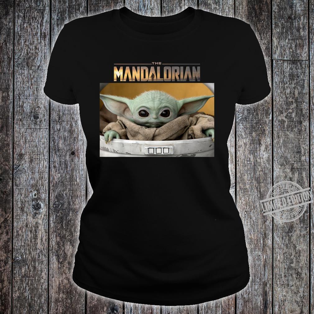 Star Wars The Mandalorian The Child Pod Screenshot Logo Shirt ladies tee