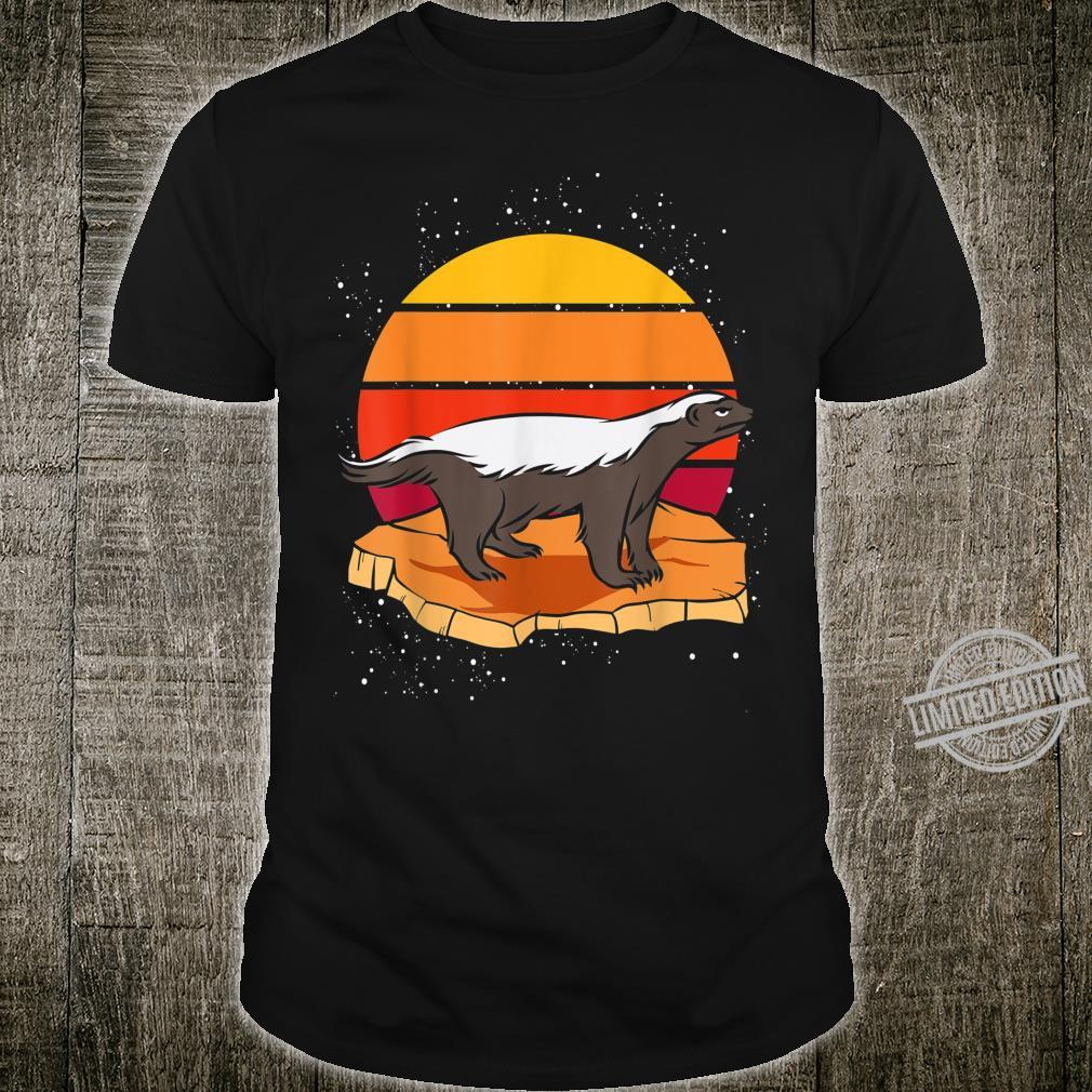 Sunset Honey Badger Shirt