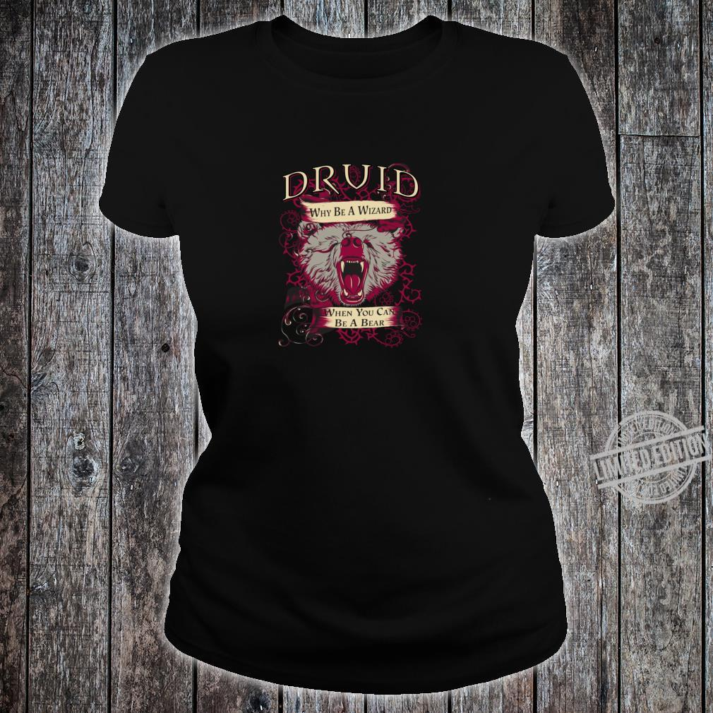 TTRPG Roleplayer Class Design for RPG Roleplaying Shirt ladies tee
