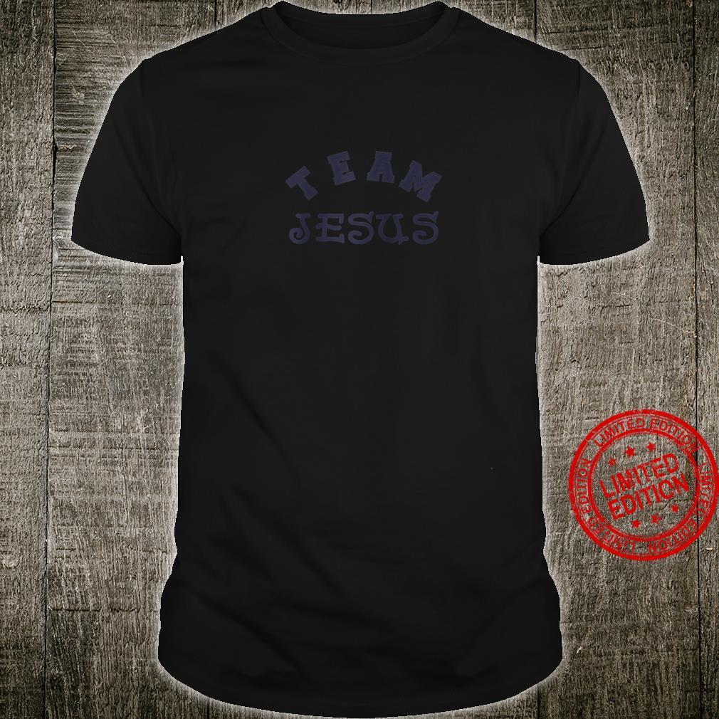 Team Jesus Christian Logo Shirt
