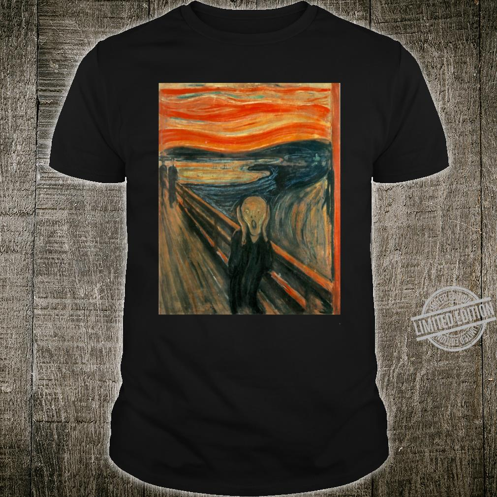 The Scream by Edvard Expressionism Munch Shirt
