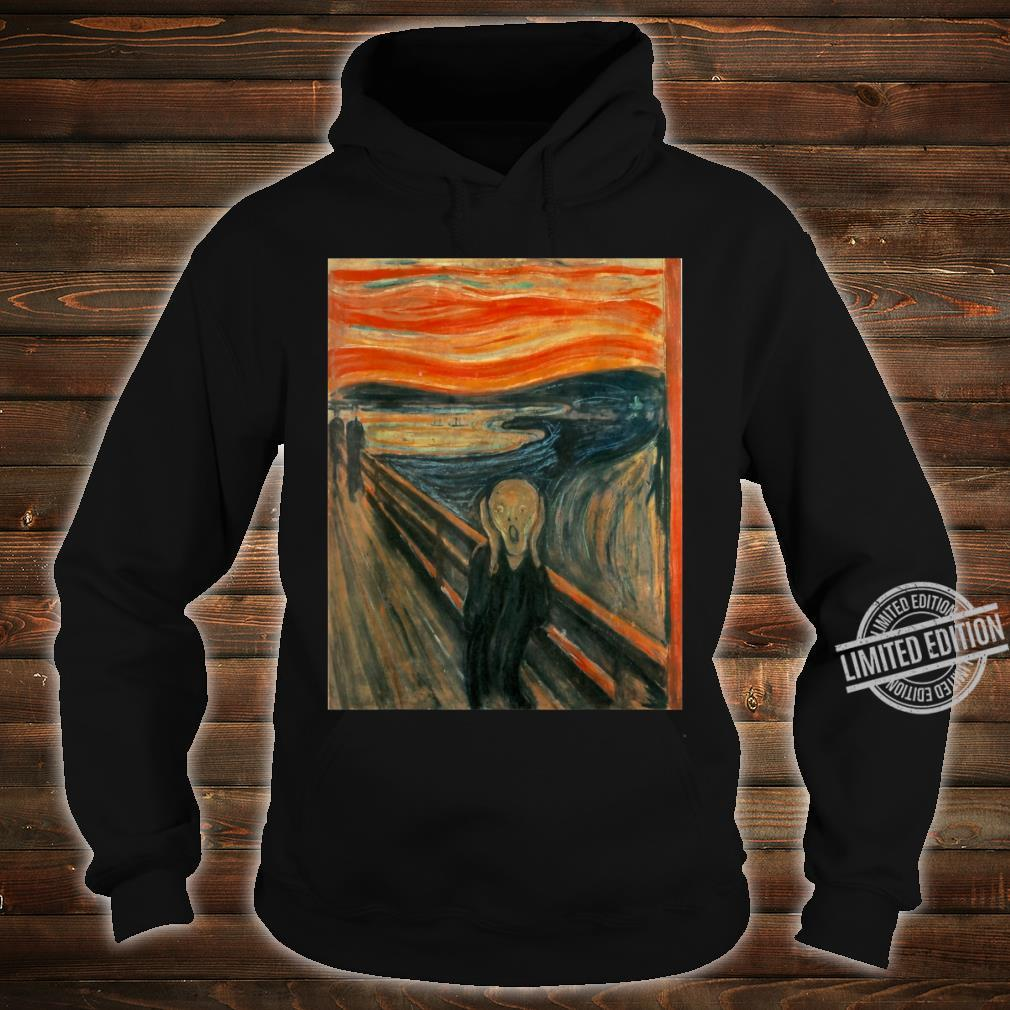The Scream by Edvard Expressionism Munch Shirt hoodie
