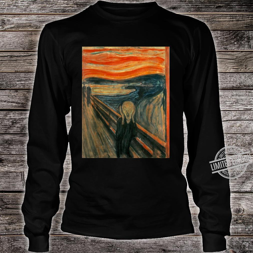 The Scream by Edvard Expressionism Munch Shirt long sleeved