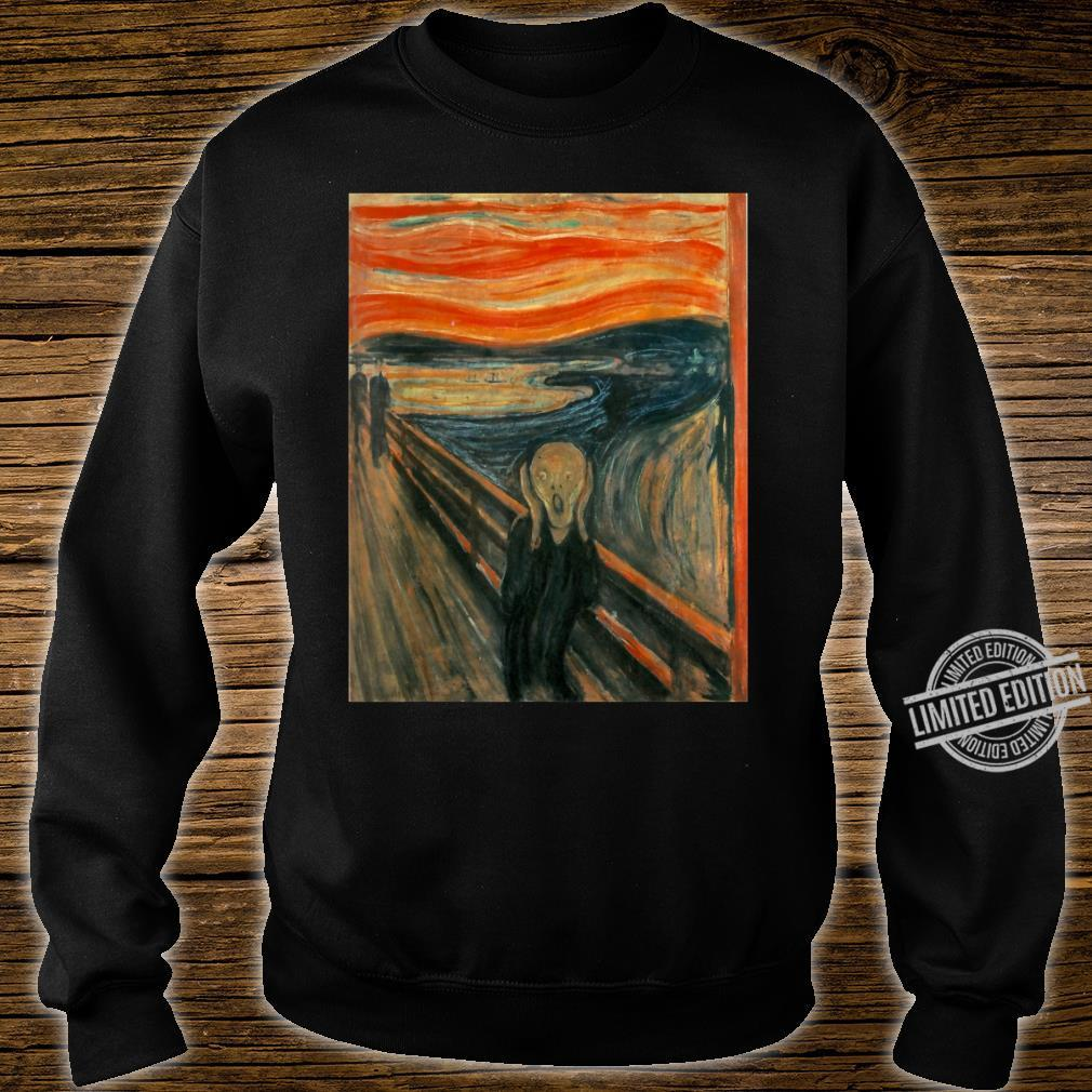 The Scream by Edvard Expressionism Munch Shirt sweater