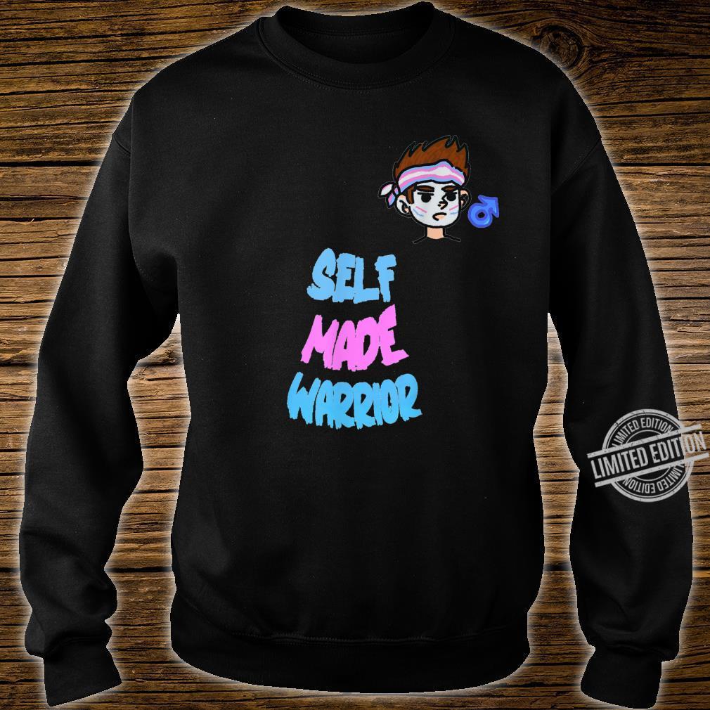 Transgender FTM Warrior. Self Made Man LGBT Trans Pride Shirt sweater