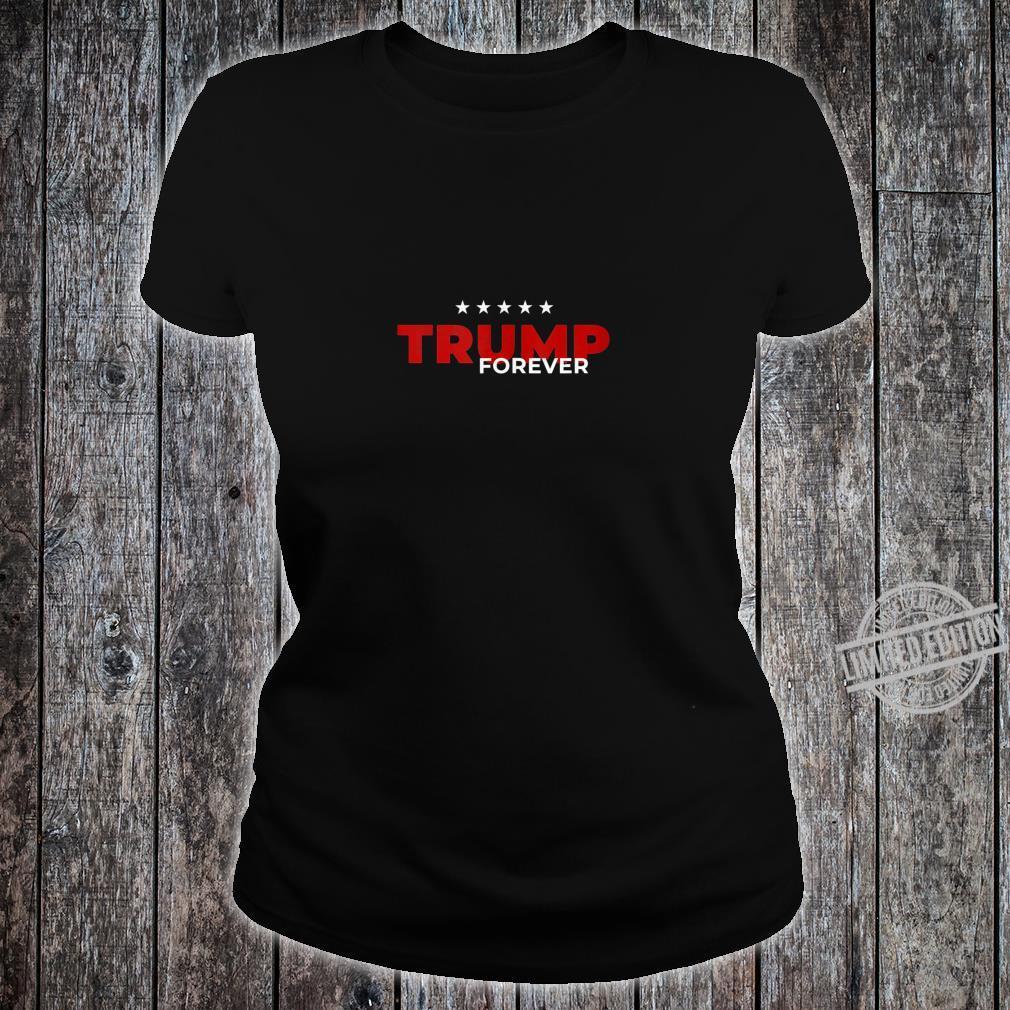Trump Forever Campaign Acquittal Impeach Pelosi Anti Schiff Shirt ladies tee
