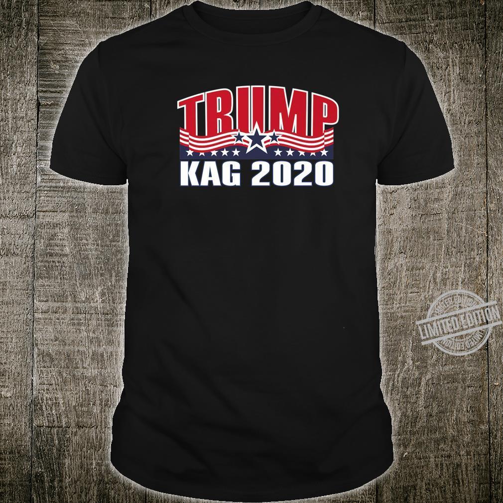 Trump KAG 2020 45 Support Re Elect Republican Election Shirt