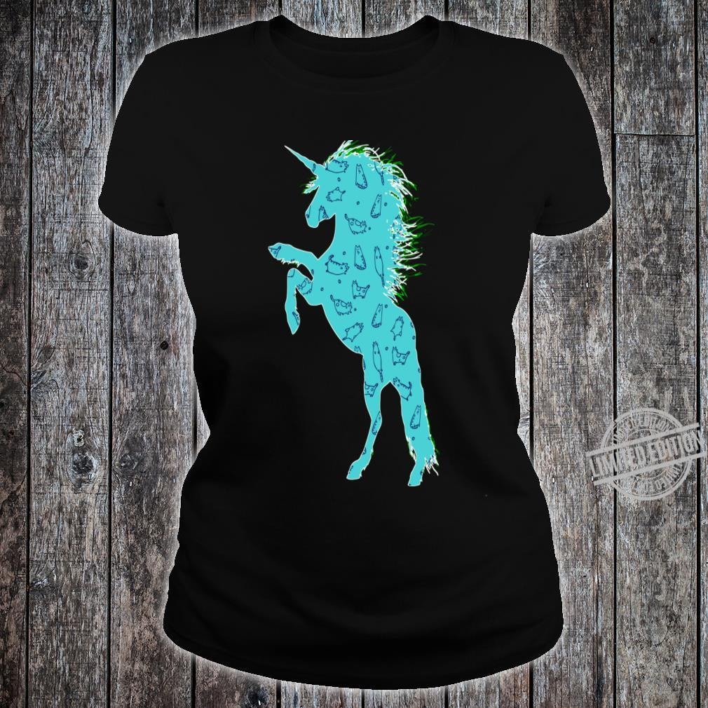 Unicorn Easter Shirt ladies tee
