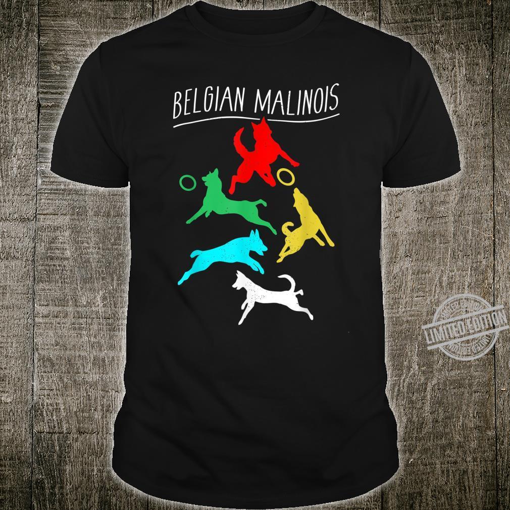 Vintage Belgian Malinois T design, Dogs Shirt