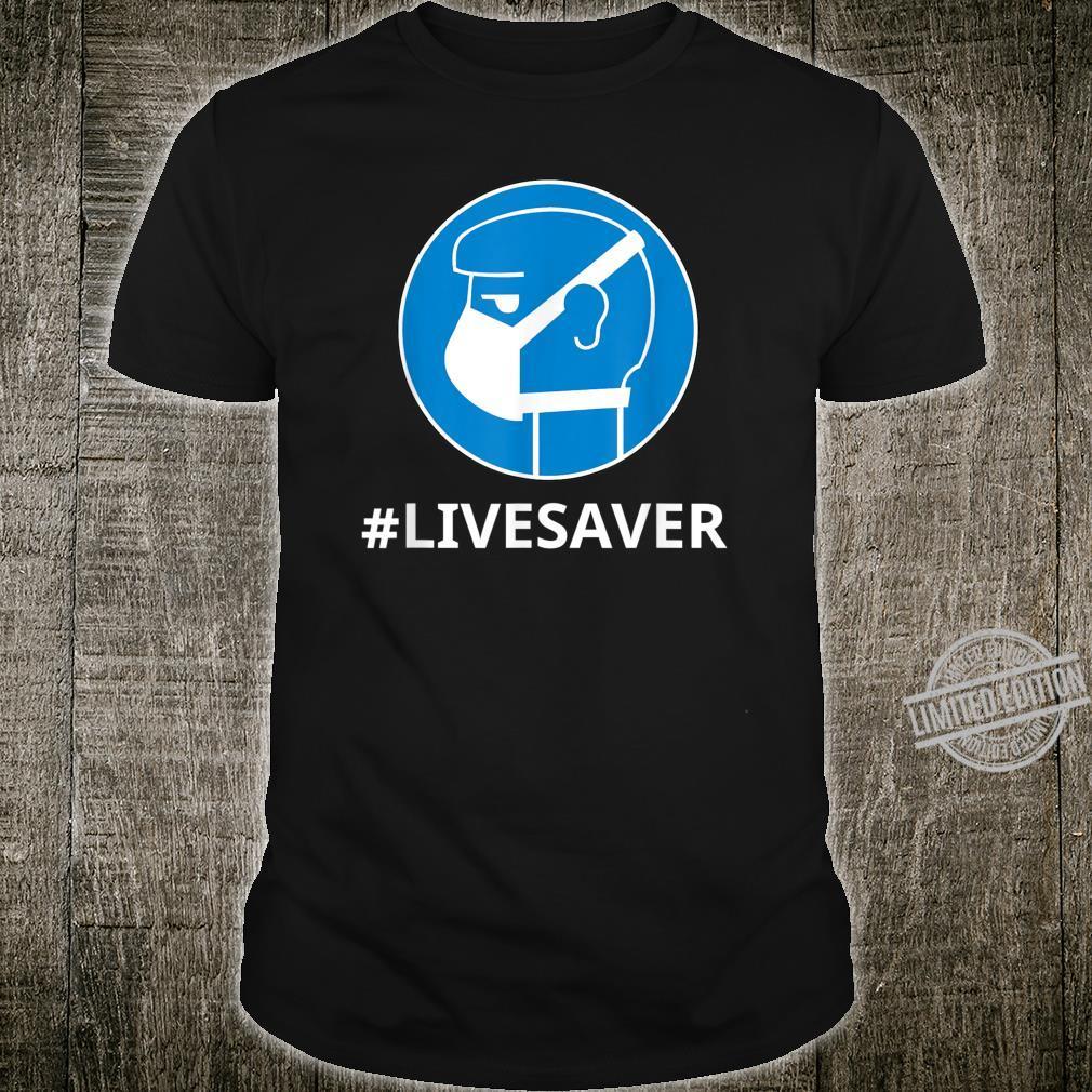 Virus Safe Shirt Safety Mask For Protection Bacteria Shirt