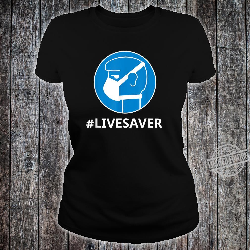 Virus Safe Shirt Safety Mask For Protection Bacteria Shirt ladies tee