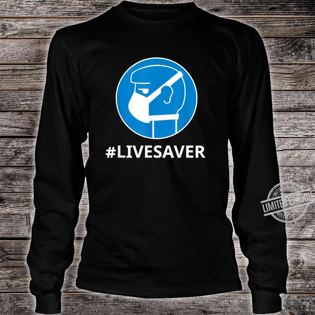 Virus Safe Shirt Safety Mask For Protection Bacteria Shirt long sleeved