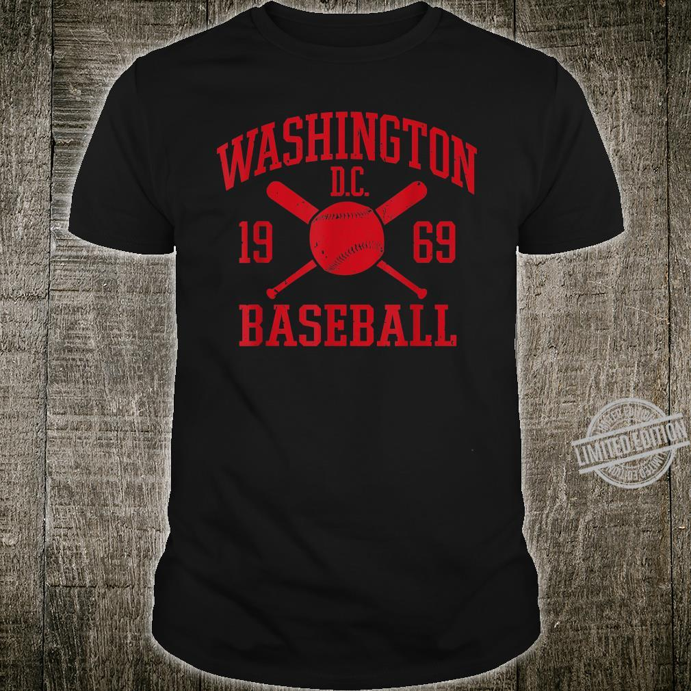 Washington DC Baseball Vintage Distressed National Shirt