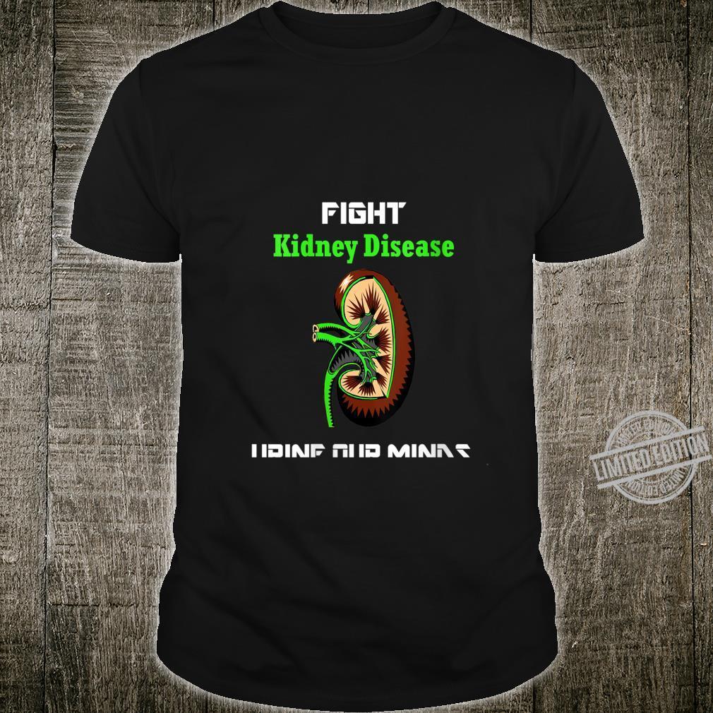 Womens Fight Kidney Disease Shirt Awareness Warrior Kidney Shirt