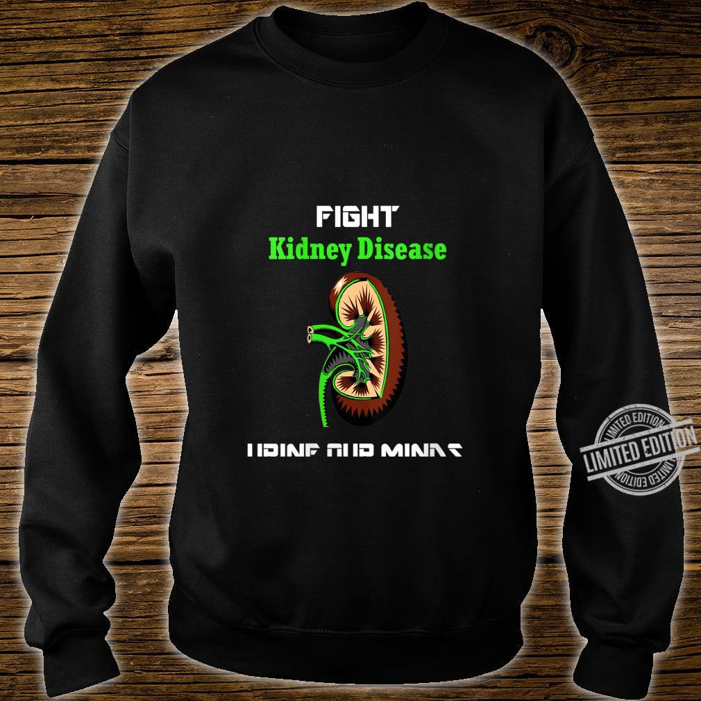 Womens Fight Kidney Disease Shirt Awareness Warrior Kidney Shirt sweater