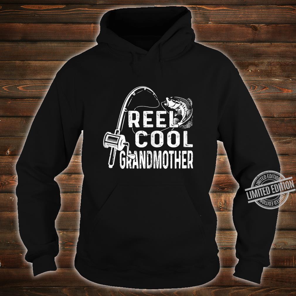 Womens Vintage Reel Cool Granmother Fishing Mom Grandma Mothers Day Shirt hoodie