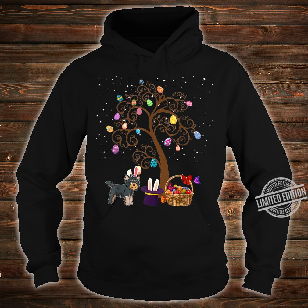 Yorkshire Terrier Dog Hunting Egg Tree Bunny Easter Day Star Shirt hoodie
