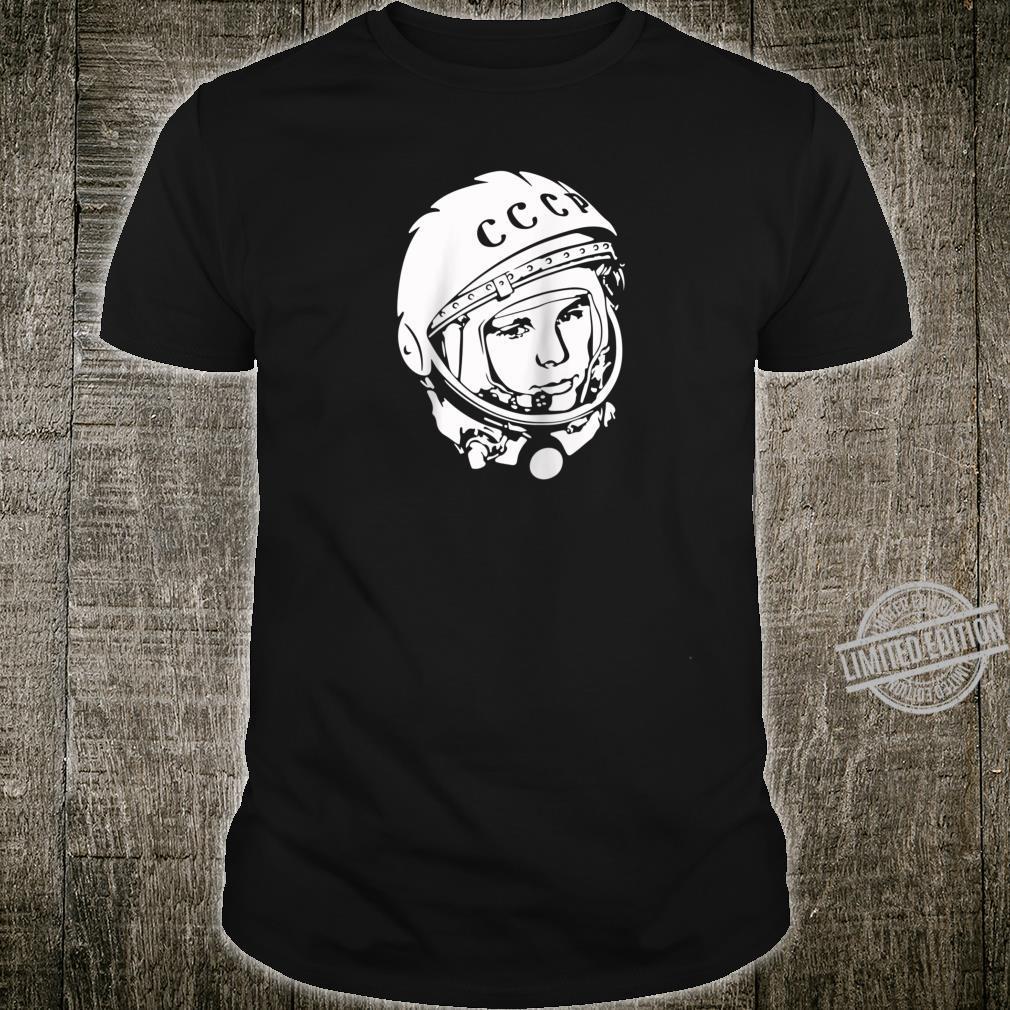 Yuri Gagarin CCCP Design Shirt