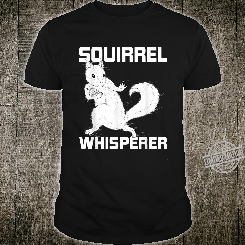 Zoo Keeper Squirrel Forest Animal Squirrel Shirt